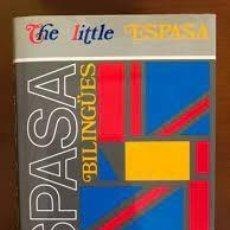 Diccionarios de segunda mano: THE LITTLE ESPASA. ENGLISH - ESPAÑOL. ESPAÑOL-ENGLISH ++. Lote 246475315
