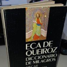 Diccionarios de segunda mano: DICCIONARIO DE MILAGROS - DE QUEIROZ, E.. Lote 246478645