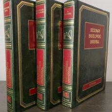 Diccionarios de segunda mano: DICCIONARI ENCICLOPÉDIC UNIVERSAL. 3 TOMOS. Lote 246494895
