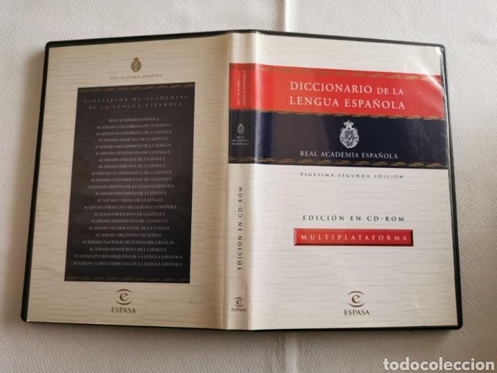DICCIONARIO DE LA LENGUA ESPAÑOLA - REAL ACADEMIA ESPAÑOLA - VIGÉSIMO SEGUNDA EDICIÓN - ED EN CD ROM (Libros de Segunda Mano - Diccionarios)