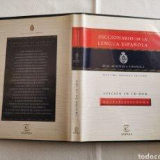 Diccionarios de segunda mano: DICCIONARIO DE LA LENGUA ESPAÑOLA - REAL ACADEMIA ESPAÑOLA - VIGÉSIMO SEGUNDA EDICIÓN - ED EN CD ROM. Lote 247689030