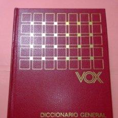 Diccionarios de segunda mano: 1976. VOX DICCIONARIO GRAL. ILUSTRADO DE LA LENGUA ESPAÑOLA, BIBIOGRAF, TAPA DURA EN PIEL. Lote 247768335
