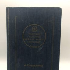 Diccionarios de segunda mano: WEBSTER´S SEVENTH NEVO COLLEGIATE DICTIONARY - A. MERRIAN WEBSTER - 1965. Lote 247808005