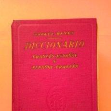 Diccionarios de segunda mano: 1965 DICCIONARIO FRANCES-ESPAÑOL/ESPAÑOL-FRANCES, EDITORIAL REYES, TAPA DURA TELILLA. Lote 247944960