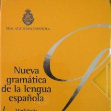 Livros em segunda mão: NUEVA GRAMÁTICA DE LA LENGUA ESPAÑOLA (MORFOLOGÍA Y SINTAXIS), REAL ACADEMÍA ESPAÑOLA. Lote 248585560
