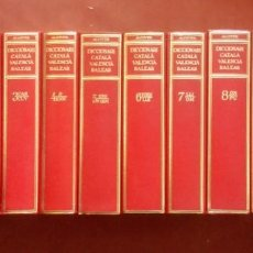 Diccionarios de segunda mano: DICCIONARI CATALA-VALENCIA-BALEAR ALCOVER-MOLL - COMPLET 10 VOLUMS.. Lote 249107055