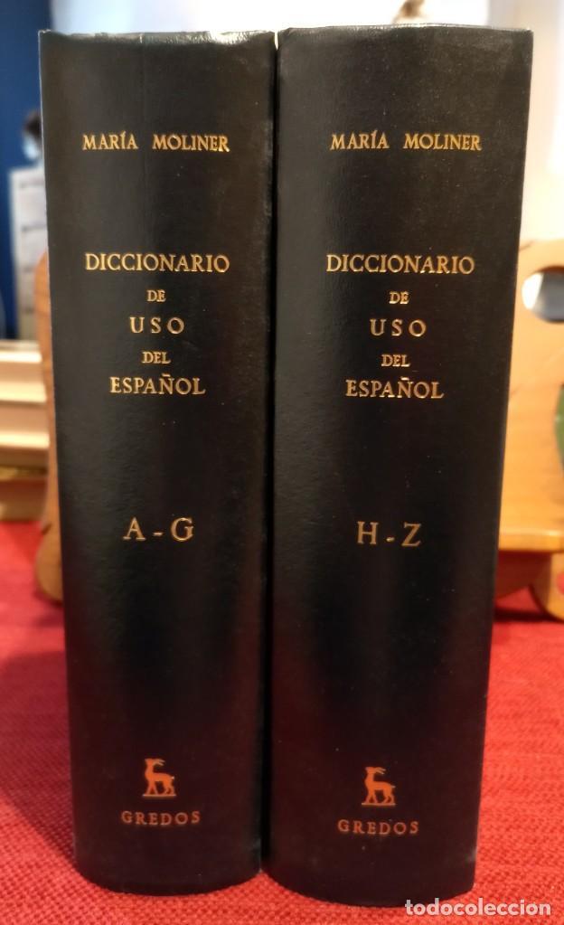 Diccionarios de segunda mano: MARIA MOLINER - DICCIONARIO DE USO DEL ESPAÑOL - 1990 - GREDOS - Foto 2 - 249526660