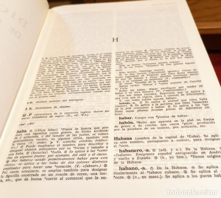 Diccionarios de segunda mano: MARIA MOLINER - DICCIONARIO DE USO DEL ESPAÑOL - 1990 - GREDOS - Foto 5 - 249526660