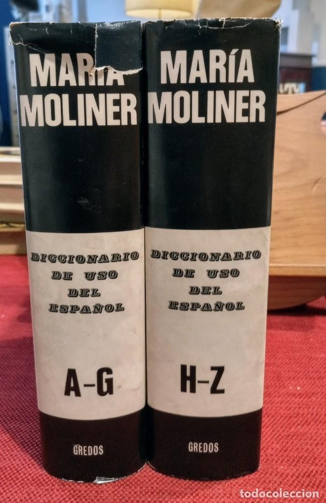 Diccionarios de segunda mano: MARIA MOLINER - DICCIONARIO DE USO DEL ESPAÑOL - 1990 - GREDOS - Foto 7 - 249526660