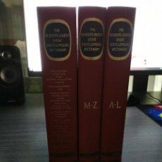 Diccionarios de segunda mano: THE READER'S DIGEST GREAT ENCYCLOPEDIC DICTIONARY - 3 VOLÚMENES - SECOND EDITION (1971). Lote 249571505