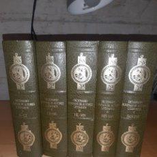 Diccionarios de segunda mano: DICCIONARIO BOMPIANI DE AUTORES LITERARIOS. 5 TOMOS. PLANETA. VER FOTOS Y DESCRIPCIÓN. Lote 251326760