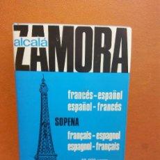 Livros em segunda mão: DICCIONARIO FRANCÉS- ESPAÑOL. ESPAÑOL - FRANCÉS. ALCALÁ ZAMORA. EDITORIAL SOPENA. Lote 252329645