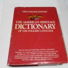 Diccionarios de segunda mano: THE AMERICAN HERITAGE DICTIONARY OF THE ENGLISH LANGUAGE W6404. Lote 253453865