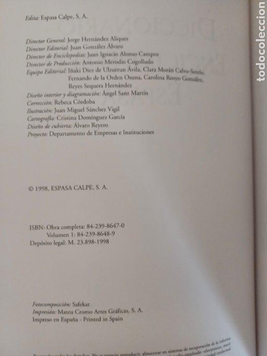 Diccionarios de segunda mano: DICCIONARIO ENCICLOPEDICO ESPASA-ABC - Foto 4 - 253488835