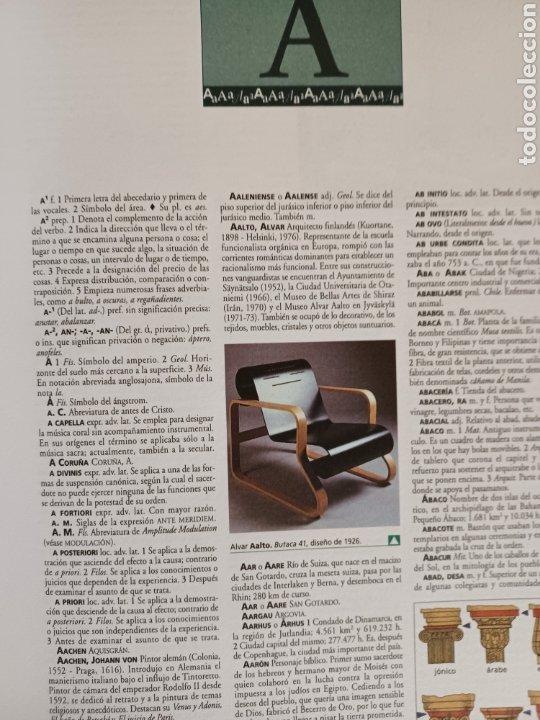 Diccionarios de segunda mano: DICCIONARIO ENCICLOPEDICO ESPASA-ABC - Foto 7 - 253488835