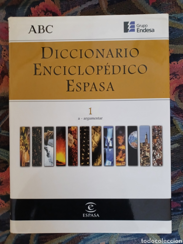 DICCIONARIO ENCICLOPEDICO ESPASA-ABC (Libros de Segunda Mano - Diccionarios)