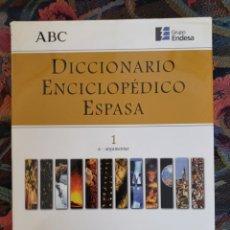 Diccionarios de segunda mano: DICCIONARIO ENCICLOPEDICO ESPASA-ABC. Lote 253488835