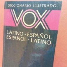 Livres d'occasion: DICCIONARIO ILUSTRADO VOX. LATINO - ESPAÑOL. ESPAÑOL- LATINO. EDITORIAL BIBLOGRAF. Lote 253506705