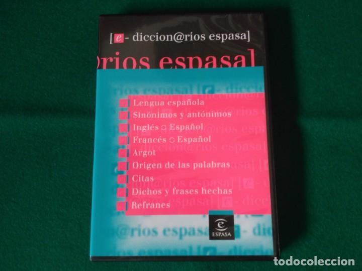 Diccionarios de segunda mano: NUEVO ESPASA ILUSTRADO MÁS 9 DICCIONARIOS EN CD - ROM - EDICIÓN LIMITADA - ESPASA - AÑO 2008 - Foto 2 - 153811030