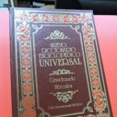 Diccionarios de segunda mano: NUEVO DICCIONARIO ENCICLOPÉDICO UNIVERSAL. GRA HER. GRANDEZUELO HÉRCULES. 22. Lote 254726835