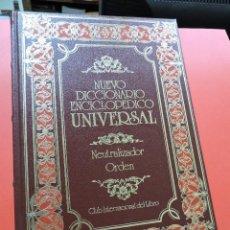 Diccionarios de segunda mano: NUEVO DICCIONARIO ENCICLOPÉDICO UNIVERSAL. NEU ORD. NEUTRALIZADOR ORDEN. 31. Lote 254727670