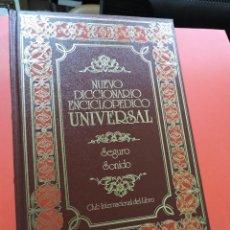 Diccionarios de segunda mano: NUEVO DICCIONARIO ENCICLOPÉDICO UNIVERSAL. SEG SON. SEGURO SONIDO. 39. Lote 254728075