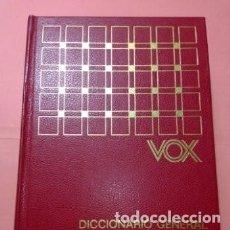 Diccionarios de segunda mano: 1976. VOX DICCIONARIO GRAL. ILUSTRADO DE LA LENGUA ESPAÑOLA, BIBIOGRAF, TAPA DURA EN PIEL. Lote 254852785