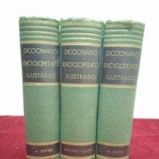 Diccionarios de segunda mano: DICCIONARIO ILUSTRADO DE LA LENGUA ESPAÑOLA. EDITORIAL RAMÓN SOPEÑA. AÑO 1954. Lote 254890645