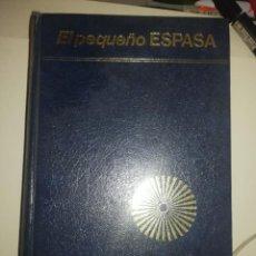 Diccionarios de segunda mano: PEQUEÑO ESPASA. Lote 254929855