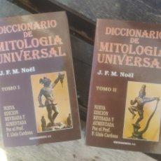 Diccionarios de segunda mano: DICCIONARIO DE MITOLOGIA UNIVERSAL, TOMO I Y II. Lote 254959425