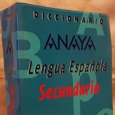 Diccionarios de segunda mano: DICCIONARIO ANAYA LENGUA ESPAÑOLA - SECUNDARIA -VOX. Lote 255422055