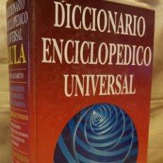 Diccionarios de segunda mano: DICCIONARIO ENCICLOPEDICO UNIVERSAL - AULA - 1997. Lote 255423205