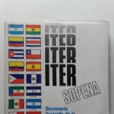 Libri di seconda mano: DICCIONARIO ITER SOPENA - EDITORIAL RAMON SOPENA - 1989. Lote 256111355