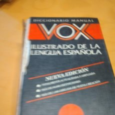 Libri di seconda mano: G-72 LIBRO DICCIONARIO MANUAL VOX ILUSTRADO DE LA LENGUA ESPAÑOLA FALTA LOMO. Lote 257327285
