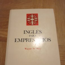 Diccionarios de segunda mano: INGLÉS PARA EMPRESARIOS. WAYNE M. BATY. Lote 258206770
