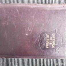 Diccionarios de segunda mano: DICCIONARIO DE LA LITERATURA I TERMINOS Y CONCEPTOS LITERARIOS. F.C. SAINZ DE ROBLES. AGUILAR 1949. Lote 259933080