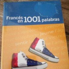 Diccionarios de segunda mano: FRANCÉS EN 1.001 PALABRAS. Lote 261281990