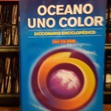 Diccionarios de segunda mano: OCEANO UN COLOR - DICCIONARIO ENCICLOPEDICO. Lote 261325735