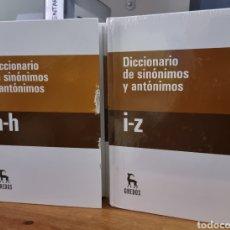 Diccionarios de segunda mano: DICCIONARIO DE SINONIMOS Y ANTONIMOS – DOS UNIDADES - ENVIO GRATIS. Lote 261538305