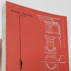 Diccionarios de segunda mano: DICCIONARI DE L'ART I DELS OFICIS DE LA CONSTRUCCIÓ - MIQUEL FULLANA. Lote 261914345