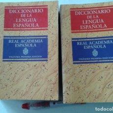 Diccionarios de segunda mano: DICCIONARIO DE LA LENGUA ESPAÑOLA, VIGÉSIMA PRIMERA EDICIÓN, 2 TOMOS, T 28. Lote 261931595