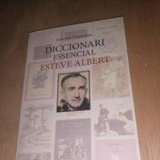 Diccionarios de segunda mano: DICCIONARI ESSENCIAL ESTEVE ALBERT , JORDI SOLÉ CAMARDONS. Lote 262002835
