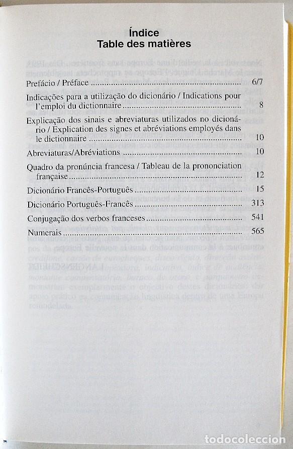 Diccionarios de segunda mano: 1998. DICIONARIO - DICCIONARIO FRANCES - PORTUGUES / PORTUGUES - FRANCES. ED. PRESENÇA - Foto 3 - 262812935