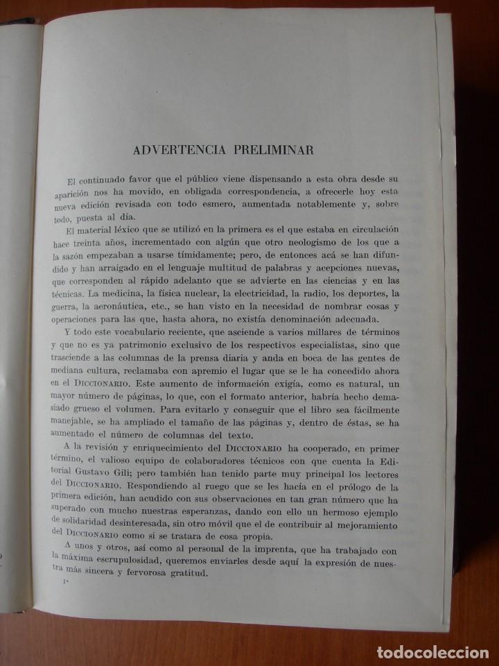 Diccionarios de segunda mano: DICCIONARIO IDEOLÓGICO DE LA LENGUA ESPAÑOLA / JULIO CASARES DE LA REAL ACADEMIA ESPAÑOLA - Foto 3 - 262813495