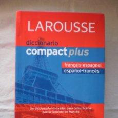 Diccionarios de segunda mano: DICCIONARIO COMPACT PLUS FRANCES- ESPAÑOL, FRANÇAIS-ESPAGNOL. Lote 263076490