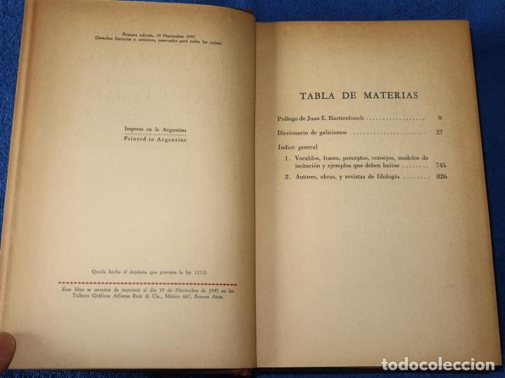 Diccionarios de segunda mano: Diccionario de Galicismos - Rafael María Baralt - Joaquín Gil Editor (1945) - Foto 6 - 263124200