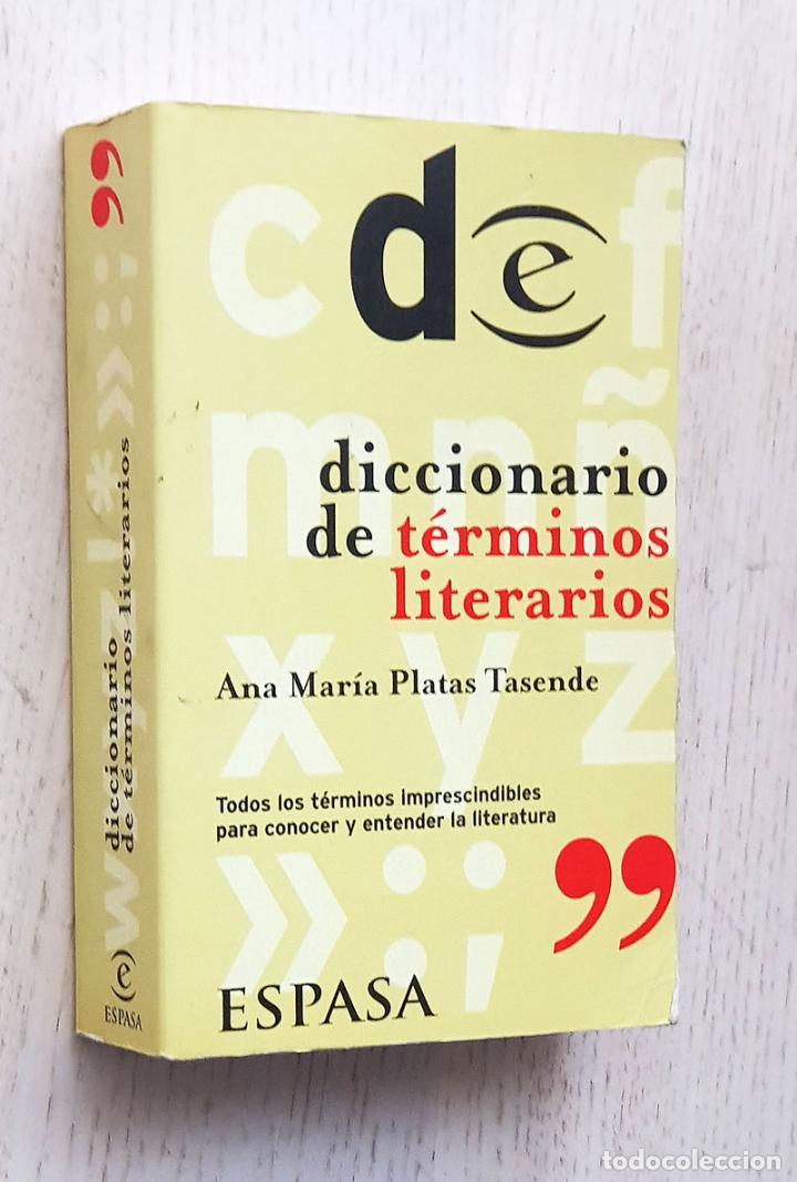 DICCIONARIO DE TÉRMINOS LITERARIOS - PLATAS TASENDE, ANA MARÍA (Libros de Segunda Mano - Diccionarios)