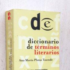 Diccionarios de segunda mano: DICCIONARIO DE TÉRMINOS LITERARIOS - PLATAS TASENDE, ANA MARÍA. Lote 263134525