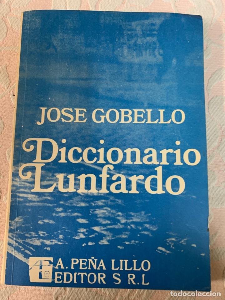 DICCIONARIO LUNFARDO (Libros de Segunda Mano - Diccionarios)