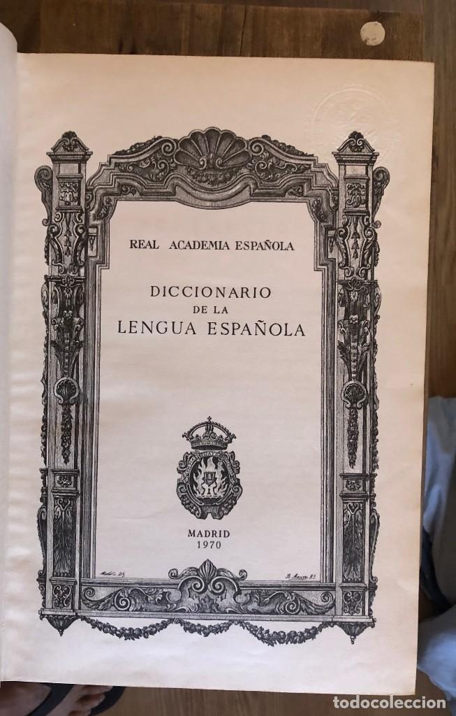 DICCIONARIO REAL ACADEMIA DE LA LENGUA ESPAÑOLA (Libros de Segunda Mano - Diccionarios)